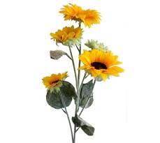 Umělá květina slunečnice  84 cm