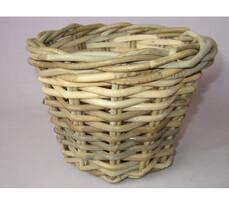 Ratanový košík Kooboo kulatý, pr. 24,5 cm
