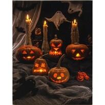LED Obraz na plátně Pumpkin, 40 x 30 cm