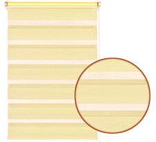 Roleta easyfix dvojitá krémová, 100 x 150 cm