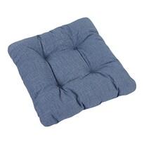 Sedák Ivo UNI modrá režná, 40 x 40 cm, sada 2 ks