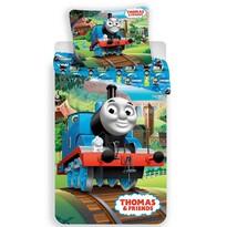 Thomas a gőzmozdony 04 pamut ágyneműhuzat, 140 x 200 cm, 70 x 90 cm