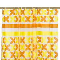 Sprchový záves Motýľ oranžová, 180 x 180 cm