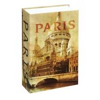 Kniha sejf Paris