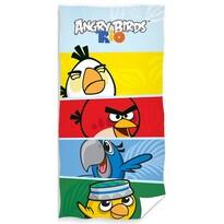 Osuška Angry Birds Check, 70 x 140 cm