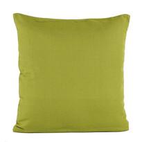 Povlak na polštářek režný zelená, 40 x 40 cm