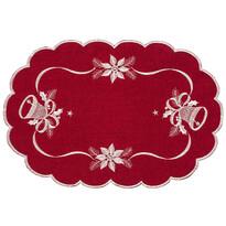 Serweta świąteczna Dzwonki czerwony