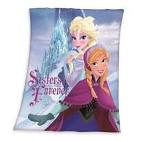 Dětská deka Ledové království Frozen Sisters forever, 130 x 160 cm