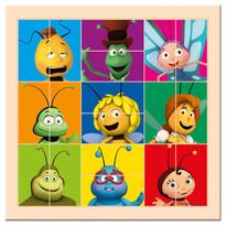 Bino Puzzle hlavičky Včielka Maja