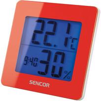 Sencor 15RD Termometr/ higrometr, czerwony