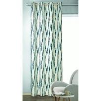 Draperie cu inele Albani Ebby, gri, 135 x 245 cm