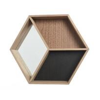 Nástěnná skříňka se zrcadlem Rhomb, 46 cm