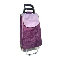 Nákupná taška na kolieskach CARRIE, fialová