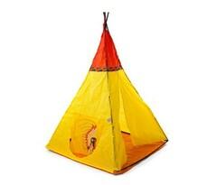 Indian III gyerek sátor lenyomattal  sárga