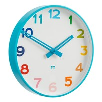 Future Time FT5010BL Rainbow blue Detské nástenné hodiny, pr. 30 cm