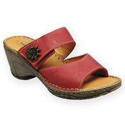 Santé Dámské pantofle vel. 38 červené