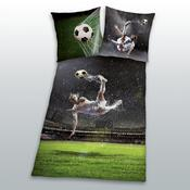 Bavlněné povlečení Soccer, 140 x 200 cm, 70 x 90 cm