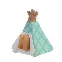 Veľkonočný zajačik Tepee modrá, 9 cm