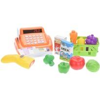 Detský hrací set Pokladňa, oranžová