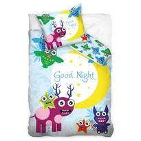 Detské bavlnené obliečky Good night Monster, 140 x 200 cm, 70 x 90 cm