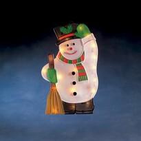 Snehuliak na okno Salem, 20 žiaroviek