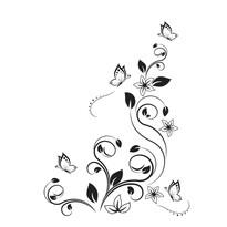 Samolepicí dekorace jako tetování