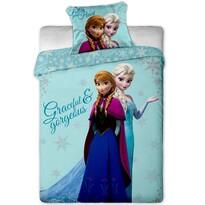 Detské bavlnené obliečky Ľadové Kráľovstvo Frozen sisters, 140 x 200 cm, 70 x 90 cm