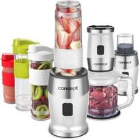 Concept SM3391 Fresh&Nutri mikser wielofunkcyjny, 700 W + 2 butelki 570 ml + 400 ml, biały