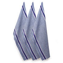 Pracovný uterák Kocka, 45 x 90 cm, sada 3 ks