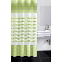 Sprchový závěs Darja zelená, 180 x 180 cm