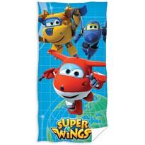 Ręcznik kąpielowy Super Wings, 70 x 140 cm