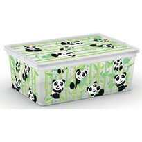 KIS Dekorační úložný box C Box Style S Cute Animals, 11 l