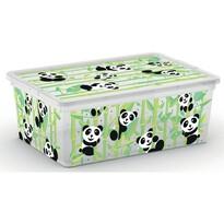 KIS Dekoračný úložný box C Box Style S Cute Animals, 11 l