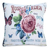 Povlak na polštářek Gobelín Rose garden, 45 x 45 cm