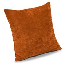Poszewka na poduszkę-jasiek Riga pomarańczowy, 40 x 40 cm