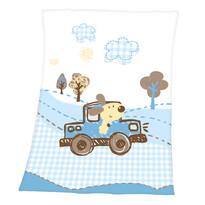 Detská deka Luis Cars, 75 x 100 cm
