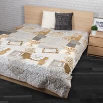 Cuvertură de pat Lace bej, 240 x 200 cm