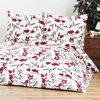 4Home bavlnené obliečky Vlčí máky, 220 x 200 cm, 2 ks 70 x 90 cm