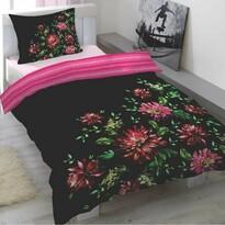 Saténové obliečky Asterales, 140 x 200 cm, 70 x 90 cm