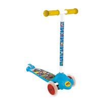 Detská kolobežka s 3 kolieskami Twist Mickey, modrá