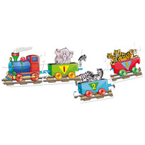 Bino Puzzle Vlak s čísly