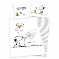 Dětské bavlněné povlečení Snoopy Přání, 140 x 200 cm, 70 x 90 cm