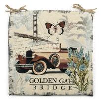 Sedák Golden Gate, 45 x 45 cm