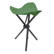 Skladacia stolička Trojnožka zelená