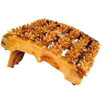 Akupresurowy wałek do masażu stóp Wood