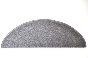 Nášľap na schody Eton, šedá, 24 x 65 cm