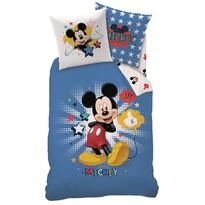Dětské bavlněné povlečení Mickey Star, 140 x 200 cm, 70 x 90 cm