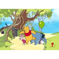 Dětská fototapeta XXL Medvídek Pú a jeho přátelé 360 x 270 cm, 4 díly
