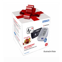 Vánoční balení Tlakoměr Omron M3 Comfort s adaptérem ZDARMA