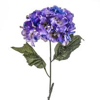 Sztuczny kwiat hortensji niebiesko-fioletowy